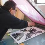 Curso de Serigrafia (silk-screen)!