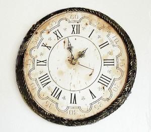 Relógio Envelhecido