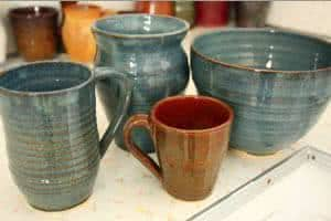 artesanato cerâmica -  vasos