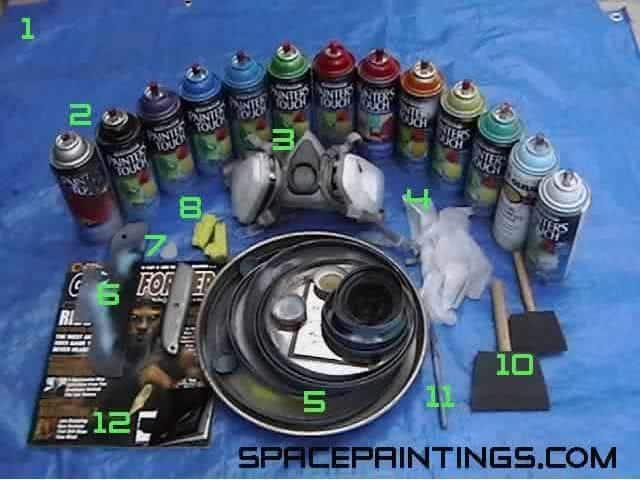 Material para grafitar