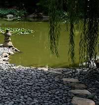 Jardim Oriental - pedras