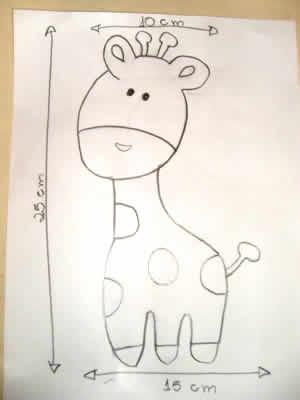 manta de bebe - desenho
