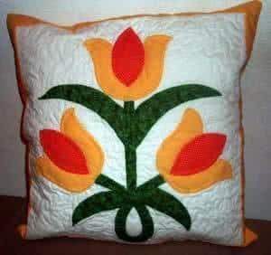 almofada tulipa