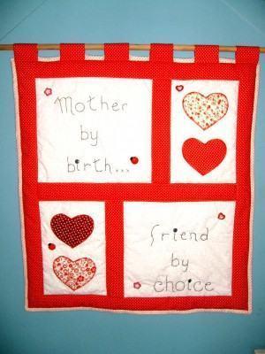 Panô Dia das Mães, um lindo presente para ela !