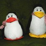 Pinguim de Feltro ou Pelúcia: Como Fazer
