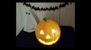 Luminaria de Halloween para a grande festa das Bruxas!