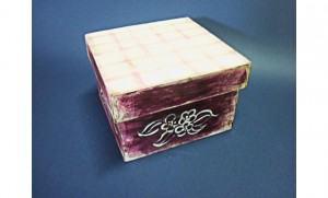 Pátina Envelhecida – caixa forrada multiuso !