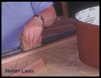 taco de madeira para lixas