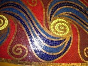 Assentamento de mosaicos artísticos, como se faz!