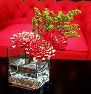 Arranjos de flores vaso