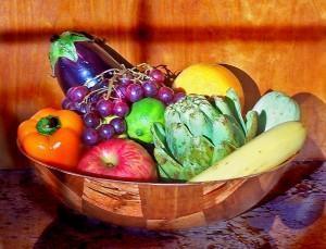 amamentação saudável - frutas