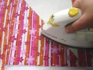 reciclagem sacola papelao