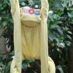 Origami em forma de Macaco. Arte da decoração com toalhas!