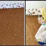 Mural para Quarto de Menina Decorado com Boneca Sunbonnet