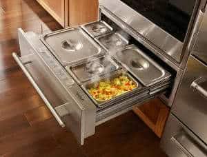 gaveta de aquecimento