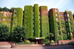 edificio vegetado na virgínia, eua