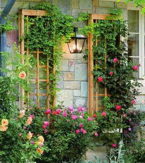 treliça jardim vertical