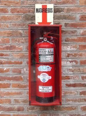 incendio extintor