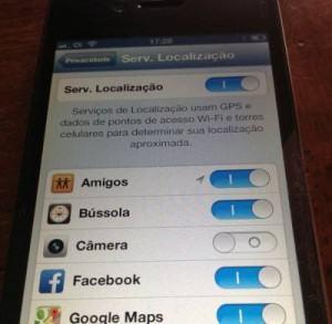 geolocalizacao no celular