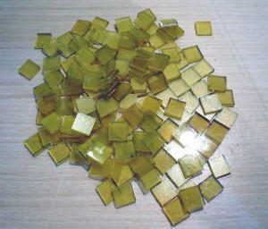 Mosaico em vidro – corte de tesselas para fazer um desenho!