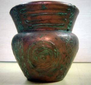 Pátina Envelhecida Tipo Cobre Oxidado: Envelheça Objetos
