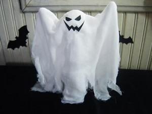 Como fazer Fantasmas de halloween