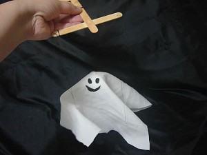Halloween Marionete de Fantasma para festa ou para brincar!