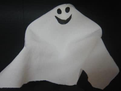 Marionete de Fantasma halloween