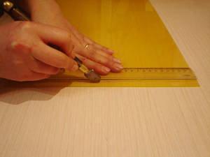 corte tesselas mosaico