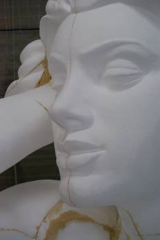 esculturas em isopor