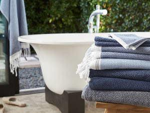 banheira toalhas