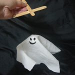Halloween: Marionete de Fantasma para Festa e para Brincar