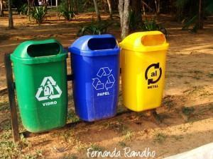 Reciclar é preciso.
