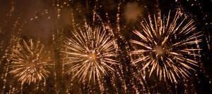medo de fogos de artificio