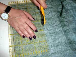 Caminho de mesa natalino - corte tecido