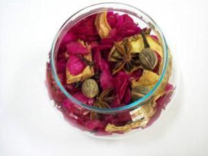 Pot–Pourri com Pétalas Coloridas para perfumar e decorar!