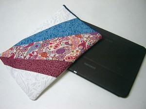 Capa para Tablet em Patchwork. Personalize seu Tablet!