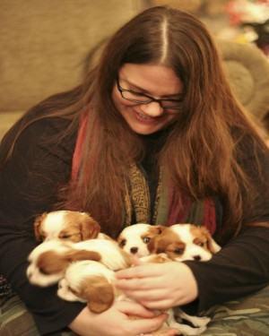 cachorros recem-nascidos
