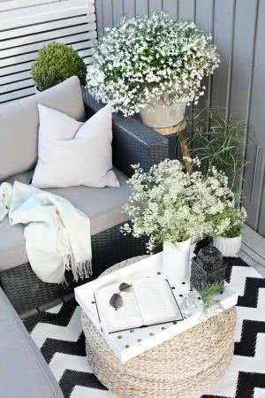 varanda sofá