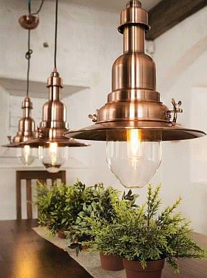 bronze luminária