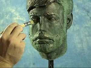 bronze pátina