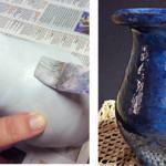 Efeito de Pátina ou Pintura Lápis Lazuli