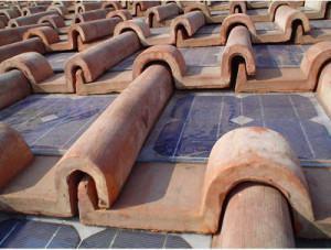 telhas argila fotovoltaicas