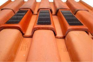 telha fotovoltaica