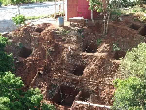 fundações buracos-bases