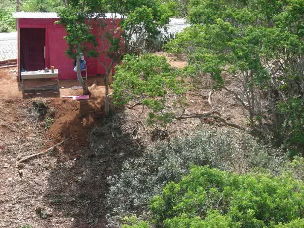 infraestrutura - terreno limpeza