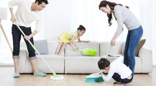 Envolvendo a Família na Limpeza: Tarefas Domésticas e Idade