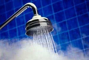 chuveiro quente