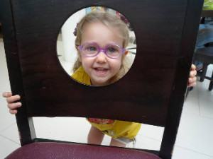 su niño necesita gafas