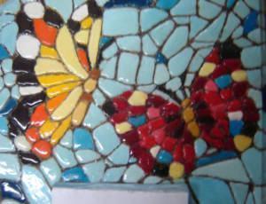 Falso Mosaico em Bloco de Anotações